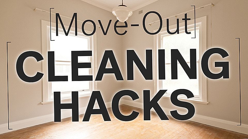 8 Hacks zum Making Your Place Look Spotless beim Auszug