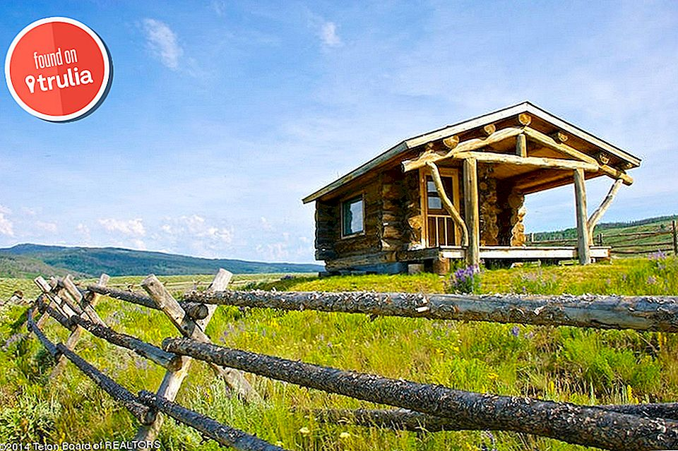 Trulia'da Bulunan: Wyoming'de Bir Teeny, Tiny Home Way Out